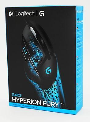Logitech G402 HYPERION FURY - Gaming Mouse/Maus - schwarz/black - Neu & OVP