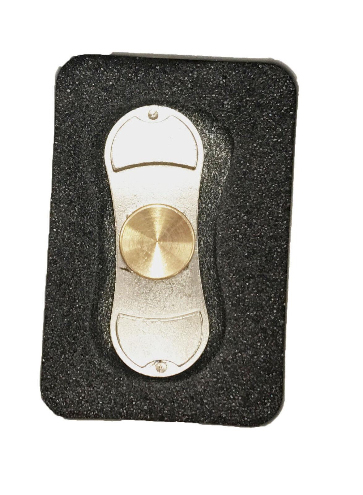 UK SELLER Fidgit spinner Fidget Hand Finger Focus Spin Steel Bearing Stress Toy