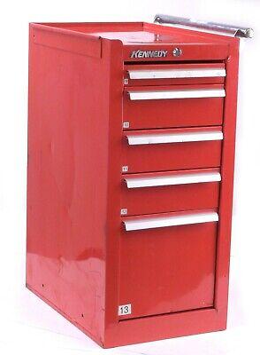 Kennedy 205r 5 Slide Drawers Steel Red Tool Cabinet 14