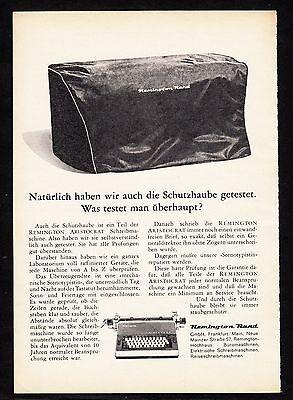 3w875/ Alte Reklame - von 1961 - Schreibmaschinen - REMINGTON RAND GmbH