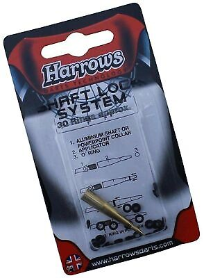 Harrows Shaft Lock System with O-Rings