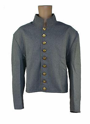 Uniformjacke CSA Frock Jacket Südstaaten Konföderation Waffenrock LARP KVM105
