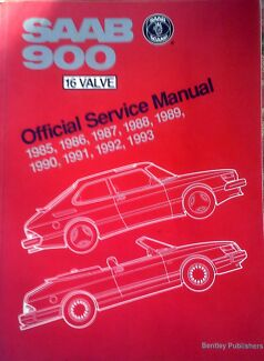 SAAB Official Service Manual 1985 to 1993
