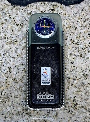 (RARE) (NOS) Swatch Irony-Limited Edition Sydney 2000 Olympics Watch-Never Used!