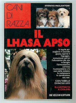 PAOLANTONI STEFANO IL LHASA APSO DE VECCHI 1994 CANI DI RAZZA CINOFILIA