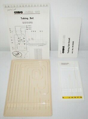 2 Roche Cobas Mira Ise 8077975 And 90-00890 Partial Tubing Sets - 14 Pieces