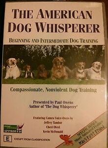 The American Dog Whisperer DVD - Dog Training