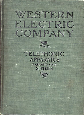 ** WESTERN ELECTRIC RARE TELEPHONE CATALOGS *           Read full description
