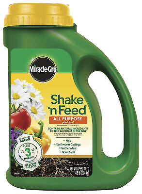 Feed All Purpose Plant Food - Miracle-Gro Shake 'N Feed All Purpose Plant Food