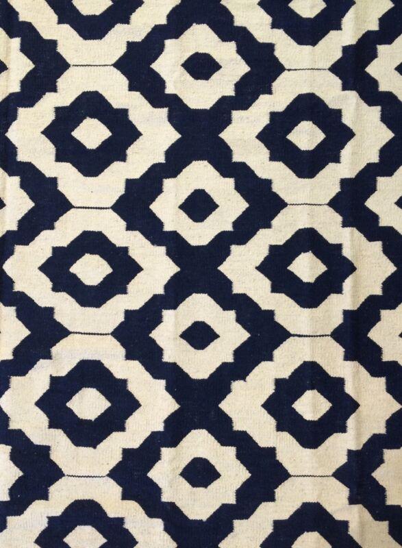 Amazing Afghani - Vintage Kilim Rug - Tribal Flatweave Carpet - 9.10 X 12.4 Ft.