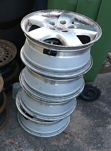 Reduced - Rims only off 2005 Dodge Grand Caravan