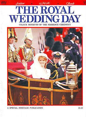 THE ROYAL WEDDING DAY SOUVENIR