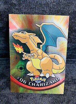 Pokémon TCG - Charizard - #6 - Foil - Topps Series 1 - Blue Label - 1st Printing