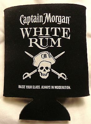 Captain Morgan White Rum -  Can or Bottle Coozy - Koozy - Coozie.....NEW