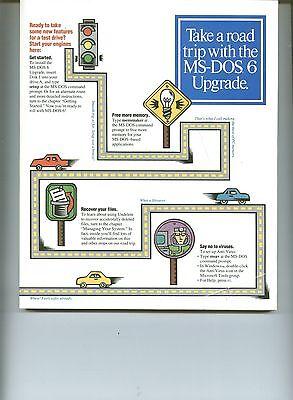 Руководство VINTAGE MS-DOS 6 UPGRADE USER'S