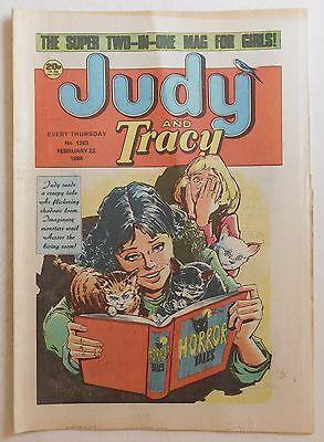 JUDY & TRACY Comic #1363 - 22nd February 1986