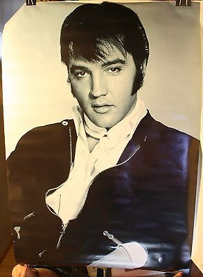 """Vintage 1987 Elvis Presley The King Large 39 x 27"""" Poster"""