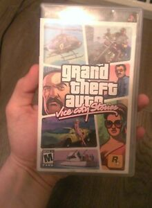 play station portable game for sale grand theft auto vice city