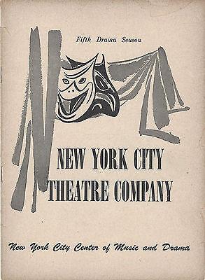 1952 Playbill FIRST LADY New York City Theatre Company Helen Gahagan
