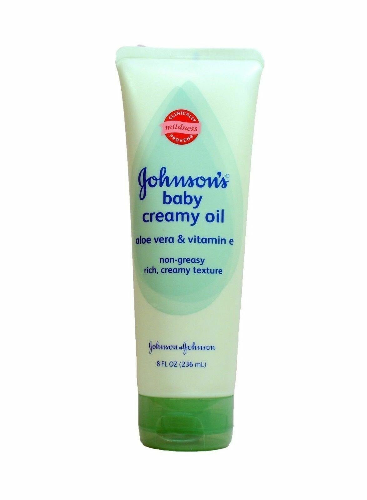 Johnson & Johnson Johnson's Baby Creamy Oil, Aloe & Vitamin