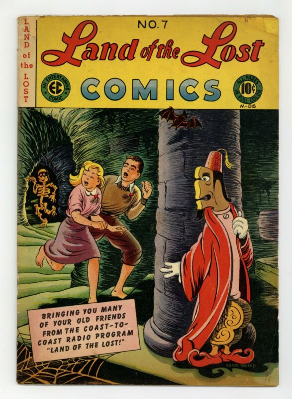 Land of the Lost Comics #7 GD+ 2.5 1947