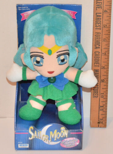 Sailor Neptune plush adventure doll stuffed toy Sailor Moon Irwin 1998