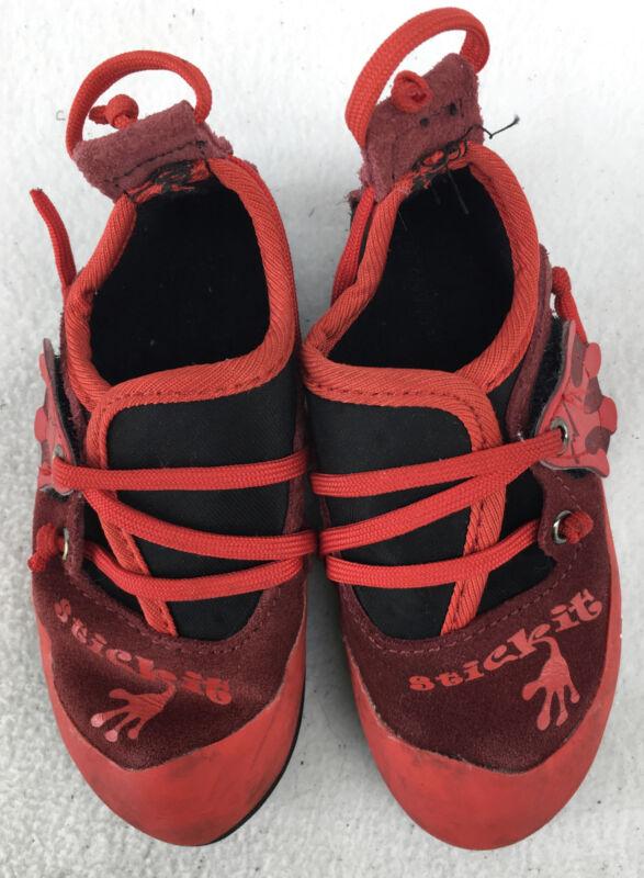 La Sportiva Stickit Climbing Shoes US Kid 8-9 N578