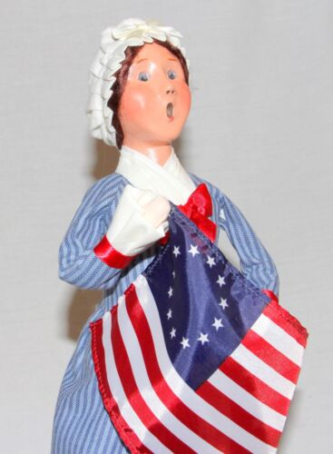 Byers Choice Betsy Ross Caroler - New Patriotic Historic Free Priority Shipping