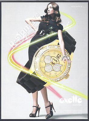Oxette Greek Watch 2007 Print Ad