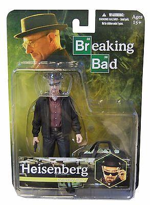 Breaking Bad Walter White Heisenberg Bryan Cranston Action Figur Mezco