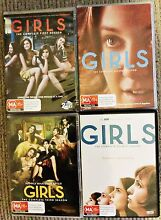 HBO's Hit Series Girls - All 4 Seasons on DVD Dulwich Hill Marrickville Area Preview