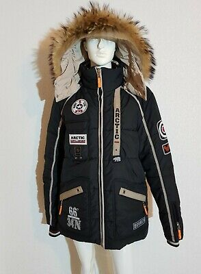 Bogner sehr schöne Herren Jacke  Ski Jacke Echt Fell Pelz L online kaufen