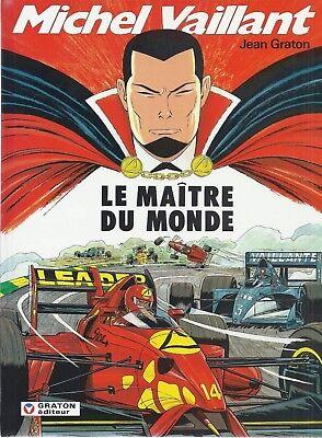 BD Michel Vaillant - Le maître du monde - N°56 - EO -1993 -TTBE- Graton