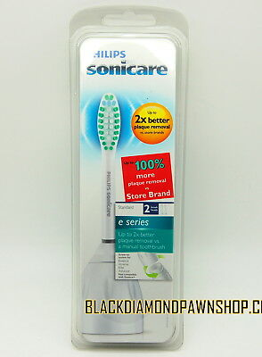 (Philips Sonicare e Series (HX7022) - 2 Standard Replacement Brush Heads....NEW!!)
