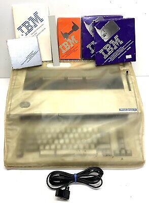 Vintage Ibm Personal Wheelwriter Electric Typewriter By Lexmark 6781 W Extras