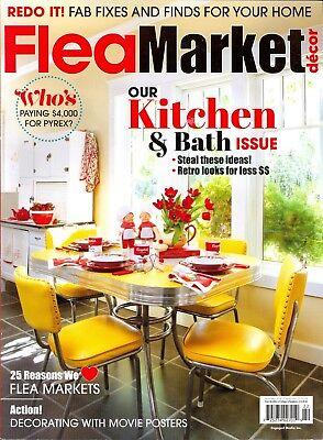 Flea Market Decor April May 2018 Our Kitchen   Bath Issue