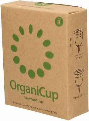 OrganiCup Los Menstrual Copa - Tamaño B
