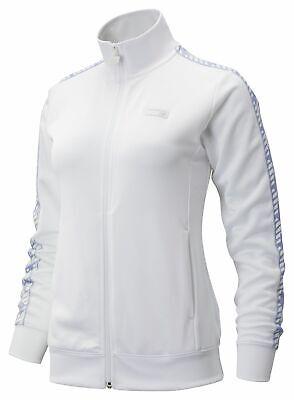 New Balance Women's NB Athletics Classic Track Jacket White