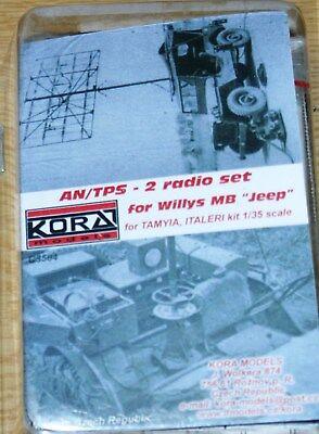 Riesen Funkantenne AN/TPS 2 für Willys Jeep von Kora in 1/35