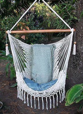 Nicaraguan macrame hamock chair/Hanging furniture/Express Shipping Available segunda mano  Embacar hacia Argentina