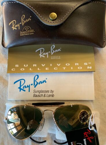 NWT Vintage RAY-BAN B&L W1507 Diamondhard Survivor