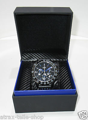Opel OPC Uhr Chronograph Edelstahl in Geschenkverpackung 10919 Nr. 173 von 500