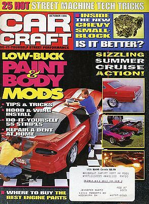 Car Craft Magazine October 1996 Chevy Small Block / Best Engine Parts