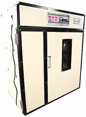 Rite Farm Products Pro-440 Cabinet Incubator Hatcher 440 Chicken Egg Capacity