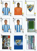 Baraja Española Malaga Club De Futbol-año 2015 -  - ebay.es