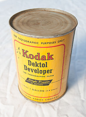 Kodak Dektol Developer Can Makes 1 Gallon NEVER Opened (Free Shipping)