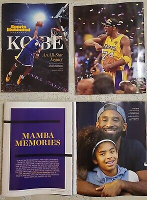 2020 NBA All-Star Game Sports Illustrated Limited Edition Kobe Bryant Tribute  comprar usado  Enviando para Brazil