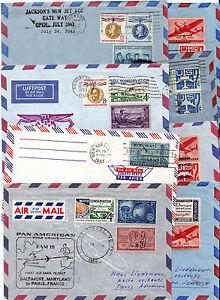 USA set of 8 air mail letters first & special flight 1960 - 1964 aerophilatelie - Altenmarkt-Thenneberg, Österreich - USA set of 8 air mail letters first & special flight 1960 - 1964 aerophilatelie - Altenmarkt-Thenneberg, Österreich