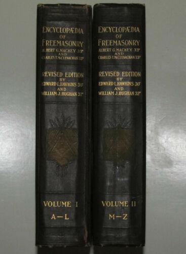 Encyclopedia of Freemasonry in 2 Volumes, Revised Edition 1924