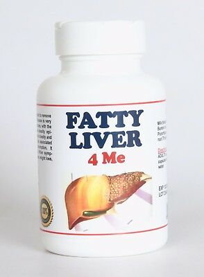 FATTY LIVER 4 ME - HUMAN - NATURAL SUPPLEMENT (TREAT & PREVENT) - MADE IN USA